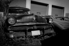 Fucked On Race Day (Robert Jack Images) Tags: blackandwhite ford abandoned newjersey bnw