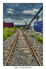 Railway (Ramfjordinho) Tags: railway handheld hdr verdal