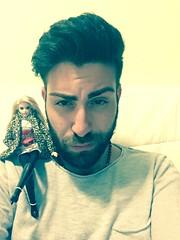 New bodyguard #selfie #barbie #andywarhol (Packy.Prince.Philipe) Tags: barbie andywarhol selfie