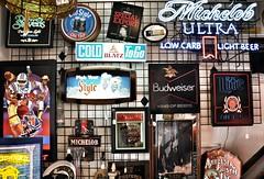 Cedarburg, Wisconsin II (dirklie65) Tags: signs beer colors schilder wisconsin advertisement bier werbung budweiser reklame farben michelob cedarburg