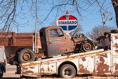 Rat Rod (nikons4me) Tags: old sign truck rust ks rusty pickup kansas hemi ratrod flattires standardoil nikond200 nikonafsdx18200mmf3556gifedvr