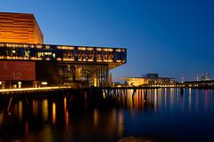 The Royal Theatre and Opera, Copenhagen (Ulrich J) Tags: architecture night copenhagen denmark cityscape danmark kbenhavn arkitektur aften operaen byrum skuespilhuset