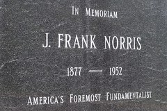 America's Foremost Fundamentalist (dangr.dave) Tags: fortworth tx texas cowtown tarrantcounty panthercity downtown historic architecture jfranknorris franknorris grave fundamental fundamentalist america memorium
