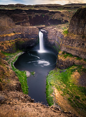 Palouse Falls (www.kjc.photos) Tags: landscape waterfall scenic wideangle falls palouse