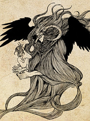 Morpheus (Cursedonez) Tags: fantasy sandman morpheus neilgaiman inks drawingoftheday fantasyillustration