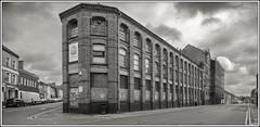 The Old Hawkins Shoe Factory (Darwinsgift) Tags: shoe northampton factory g 20mm nikkor f18 derelict hawkins