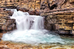 Oh sweet silky waters & rugged rock beauty....what an incredibly beautiful contrast wouldn't you agree? ;-) (Barbie Photography) Tags: barbiesphotography landscape waterfalls beauty nature silky outdoors