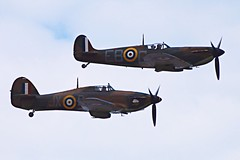 National Armed Forces Day at Cleethorpes June 25th 2016 (dave.maughan) Tags: hurricane cleethorpes battleofbritainmemorialflight nationalarmedforcesday spitfireebg
