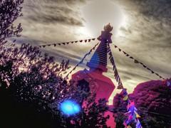 Temple Divine (KnightedAirs) Tags: arizona mountain rock digital canon garden photography photo buddha sedona grand tibet powershot tibetan spiritual buddism epic hdr formations s100