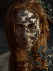 .... (dmitrybelozerov) Tags: portrait woman green art girl face eyes nikon fineart sigma concept