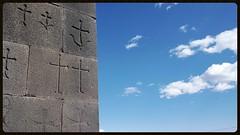 (ben ot) Tags: church glise carving gravure ciel sky armenia armnie