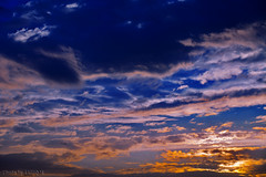 Sunset (TARIQ-M) Tags: sunset sky cloud sun sunrise landscape rays  riyadh saudiarabia   canoneos5d         canonef70200mmf4lusm    canoneos5dmarkii
