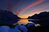 Sunset in Ersfjordbotn (John A.Hemmingsen) Tags: sunset sky seascape reflection colors clouds landscape nordnorge troms ersfjordbotn micarttttworldphotographyawards micartttt nikkor1685dx nikond7000