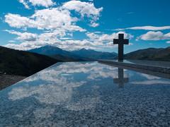 2012-04 _Croix-2 (Mac-Graveur) Tags: mountain france montagne cross corse tomb reflet reflect cimetiere croix tombe cimetery hautecorse