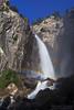 Cascade Falls Moonbow (Willie Huang Photo) Tags: longexposure moon nature night landscape waterfall nationalpark rainbow scenic yosemite yosemitenationalpark cascade moonbow cascadefalls lunarrainbow supermoon