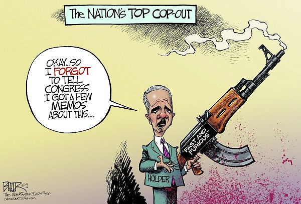 Forgetful ERIC HOLDER