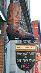 NASHVILLE, TENNESSEE* (gobucks2) Tags: city signs downtown nashville boots tennessee broadway 2012 nashvilletennessee april2012