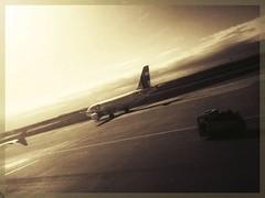 Coming back from holidays (sergio.pereira.gonzalez) Tags: madrid blancoynegro blackwhite airport spain noiretblanc samsung espana aeropuerto espagne t4 terminal4 baraja aéroport sergiopereiragonzalez
