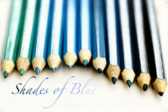 Shades of blue...... (k4wea) Tags: blue shades textures colouring explored 173366 dailyishphoto beyondlayers collourweek pencilscolouredpencils highestposition90