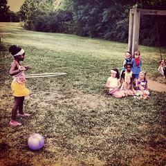 Watch me hula hoop!