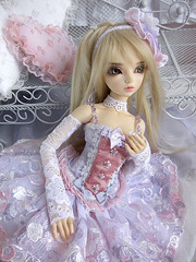 Petite Precieuse Once Upon a Time (~ Eglantine ~) Tags: virginia doll dress handmade corset bjd dollfie fairyland msd mnf minifee rheia petiteprecieuse