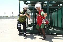 120701naruto_0010 (BKitten) Tags: anime photoshoot expo cosplay naruto kakashi 2012 jiraiya hatake shippuden