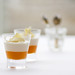 Passionfruit and yoghurt mousee in the Balconies Restaurant © Royal Opera House Restaurants 2012