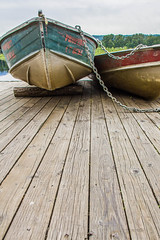Burnaby Boats (Jason Gallant.) Tags: wood lake canon boats eos pier dock chain rowboat planks burnabylake 18200mm 60d