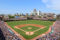 Wrigley Field, Chicago, Illinois - July 1, 2012 (russ david) Tags: park street chicago illinois baseball stadium july ivy cubs wrigleyfield astros addison lakeview 2012