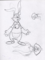Bunny sketch (dillardma) Tags: rabbit bunny animal sketch drawing character cartoon graphite conceptdrawing