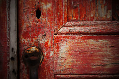 red door (jtr27) Tags: door red macro mill abandoned sony maine 55mm vivitar manualfocus f28 nex dsc01156 mdmount kezarfalls jtr27 nex5n