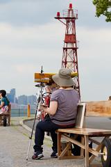The Artist (Adrian Cabrero (Mustagrapho)) Tags: nyc newyorkcity worldtradecenter lowermanhattan governersisland canon7d adriancabrero mytummytalkstome mustagraphy musutagraphy
