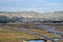 Salt Lake City (shottwokill) Tags: utah nikon aerial saltlakecity saltlake d80