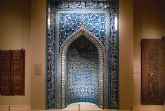 Mihrab, 1354--55, Isfahan, Iran