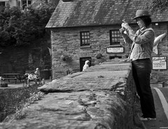 Photo-Stream (Alexander Jones - Documentary Photography) Tags: street west wales photography carmarthenshire candid south documentary olympus falls moment decisive e500 cenarth