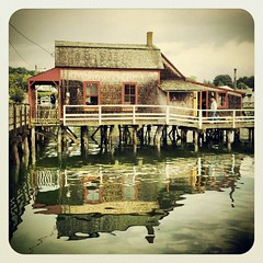 Boothbay Harbor (Joe Shlabotnik) Tags: cameraphone reflection maine 2012 faved boothbayharbor droid2 july2012 instagram uploaded:by=instagram