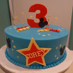 Mickey Mouse Cake by Angie M, Twin Cities, MN, www.birthdaycakes4free.com