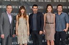 Bryan Cranston, Jessica Biel, Colin Farrell, Kate Beckinsale, Len Wiseman Los Angeles photocall for 'Total Recall', held at The Four Seasons Hotel in Beverly Hills Los Angeles, California