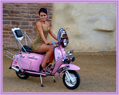 Scooter Girl (Yvette-) Tags: