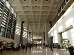 lobby: National Museum of China (sftrajan) Tags: china architecture beijing lobby   peking bijng   nationalmuseumofchina    zhnggugujibwgun chinesischesnationalmuseum musenationaldechine