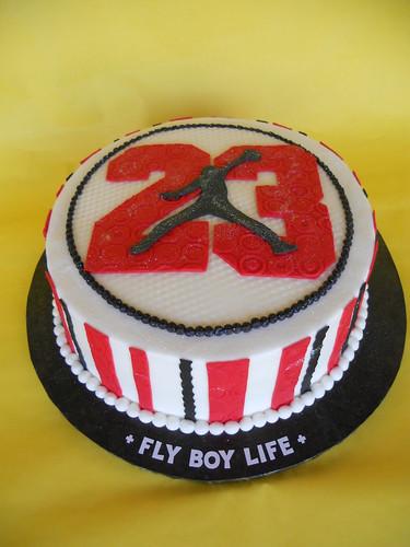 Jump man 23 birthday cake a photo on flickriver jump man 23 birthday cake altavistaventures Choice Image