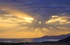 puesta en lanzarote (moli_jarrillero) Tags: naturaleza cielo sol puesta
