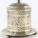 S52. Silver Plated Biscuit Jar