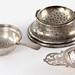 S69. Three Sterling Tea Accoutrements