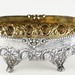1055. Continental Parcel Gilt Silver Center Bowl