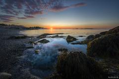 on the shores of surrender | cohasset [explore] (elmofoto) Tags: ocean sunset seascape beach landscape coast nikon rocks fav50 massachusetts pebbles fav20 atlantic explore shore fav30 hdr pf d800 fav10 explored fav40 5000v fav60 fav80 fav70 nikond800 elmofoto lorenzomontezemolo forcurators wwwelmofotocom
