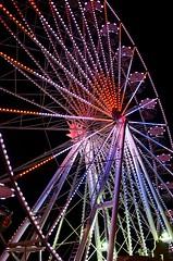 (Corinna Dumat) Tags: color wheel night nikon nacht colorfull ferris riesenrad bunt d7000