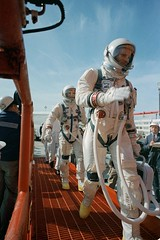 Boarding Gemini VIII (NASA on The Commons) Tags: scott aviation astronaut astronauts armstrong aviator spacesuit aviators aerospace davescott spacesuits neilarmstrong mannedspaceflight pressuresuit projectgemini gemini8 geminiviii