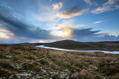 Nant y Moch in the Snow (_asv_) Tags: sunset sky snow storm cold ice wales reflections y dramatic ceredigion nant nantymoch pumlumon plynlimon moch