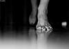next step (pukilin) Tags: light bw selfportrait reflection feet luz me self 35mm dof bn step paso pies reflejo autorretrato nikond3100